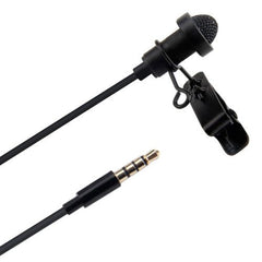 Aputure A.lav ez Broadcast Quality Omnidirectional Lavalier Condenser Microphone with Wind Shield Windscreen for Mobile Phone / Tablet