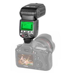PIXEL X800C Standard ETTL / M / Mult Flash Light Speedlite for Canon Camera