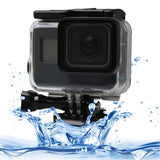 For GoPro HERO5 Black Touch Screen 60m Underwater Waterproof Housing Diving Protective Case with Buckle Basic Mount & Screw No Need to Disassemble