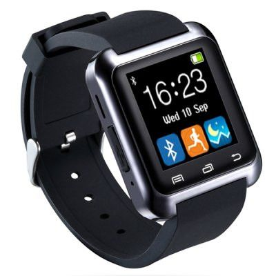 Touchscreen Smartwatch With Rubber Band