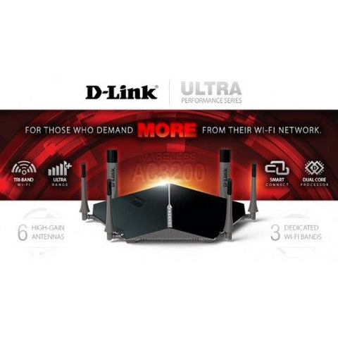 D-Link Wireless AC3200 Ultra Router +