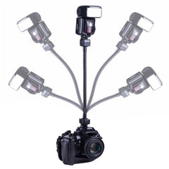 Flexible Rotating Arm Flash Light TTL Bracket Hand Grip Holder Mount for Nikon