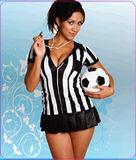 UniQue Soccer Lady Mouse pads