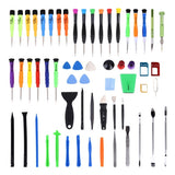 60 in 1 Professional Screwdriver Repair Open Tool Kit with SIM Card Adapter Set for Mobile Phones