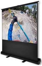Esquire Scena Pull Up Projector Screen 72 inches -1.6m X .0.9m Wide Screen 16:9 format