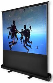 Esquire Scena Pull Up Projector Screen 54 inches - 1.2m X .0.68m Wide Screen 16:9 format
