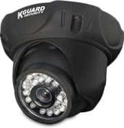 KGuard 25 Meter IR Dome SHARP 1/3 inch  Color CCD - TVL: 480 Lens: 4.3mm View Angle: 58¶ø IR Type: IR LED*26pcs Night Vision: 25M 1x 18M/60ft BNC/Power extension cable 1x 12V DC power adapter