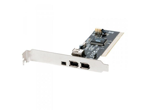 Pci: 3 Firewire (2 Std 1 Mini)