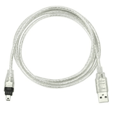 Usb A To Firewire 4 Pin Male Cable - Zasttra.com