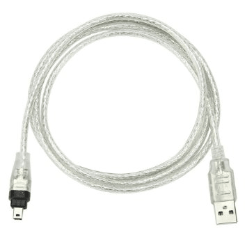 Usb A To Firewire 4 Pin Male Cable