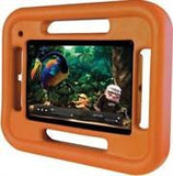 Promate Fellymini Multi-grip shockproof Impact resistant case for iPad Mini-Orange - Zasttra.com