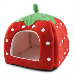 Strawberry Pet Bed (Small)