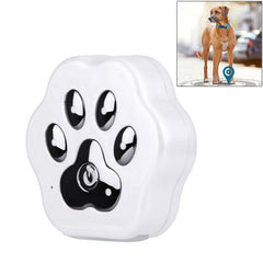 Anti-lost WiFi GSM Smart GPS Tracker for Pet(White)