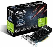 Asus NVidia GeForce GT 720 DirectX 11 2GB 64-Bit DDR3 PCI Express 2.0 x16 HDCP Ready Graphics Card