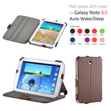 Online Buy Premium Heat Formed Leather Case For Samsung Galaxy Note 8.0 N5100 / N5110 | South Africa | Zasttra.com