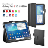 Leather Stand Cover Case For Samsung Galaxy Tab 3 10.1 P5200 / P5210 - Zasttra.com - 1