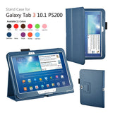 Leather Stand Cover Case For Samsung Galaxy Tab 3 10.1 P5200 / P5210 - Zasttra.com - 11