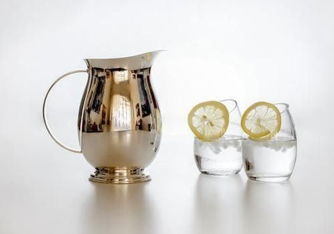 Water Pitcher - Silver Plated