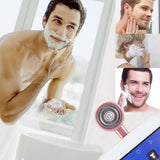 ENKAY Hat-prince Mini Micro USB Portable Men Razor Electric Shavers for Android Phone(Pink)