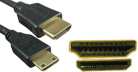 Mini Hdmi Male To Hdmi Male 1.5M