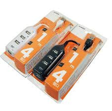 Usb 4 Port Hub Ver 2.0 Orange