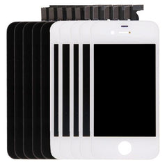 5 PCS Black + 5 PCS White iPartsBuy 3 in 1 for iPhone 4S (LCD + Frame + Touch Pad) Digitizer Assembly