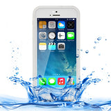 For iPhone 5 & 5S & SE Soft TPU Protective Case Life Waterproof(Transparent)
