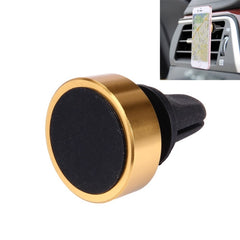 Car Magnetic Air Vent Mount Dock Holder with Quick-snap for iPhone 7 Plus / iPhone 7 / iPhone 6 & 6 Plus (Gold)