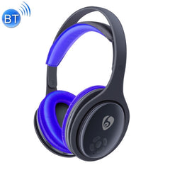 OVLENG MX555 Bluetooth 4.1 Wireless Stereo Noise Isolating Headset with Microphone for All Audio Devices(Blue)