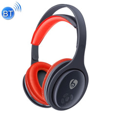 OVLENG MX555 Bluetooth 4.1 Wireless Stereo Noise Isolating Headset with Microphone for All Audio Devices(Red)