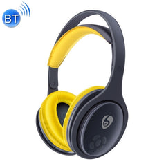 OVLENG MX555 Bluetooth 4.1 Wireless Stereo Noise Isolating Headset with Microphone for All Audio Devices(Yellow)