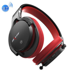 ZEALOT B5 Stereo Wired Wireless Bluetooth 4.0 Headphone Subwoofer Headset Ear Cup with 40mm Speaker & HD Microphone & 3.5mm Audio Port for Mobile Phones & Tablets & Laptops Support 32GB TF / SD Card Maximum(Red)