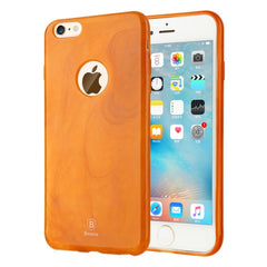 Baseus for iPhone 6 & 6s Jade Texture Soft TPU Protective Case(Orange)