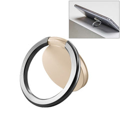 Original Xiaomi Universal Rotatable Metal Ring Holder for Xiaomi iPhone Samsung HTC LG Huawei vivo OPPO Meizu Mobile Phones(Gold)