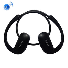KSCAT NICE 18C Wireless Sports Bluetooth V2.1+EDR Wired Control Headset for Smart Phones or Other Bluetooth Audio DevicesEffective Bluetooth Distance: About 10M(Black)