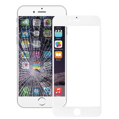 iPartsBuy for iPhone 6 Plus Front Screen Outer Glass Lens with Front LCD Screen Bezel Frame & OCA Optically Clear Adhesive (White)