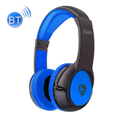OVLENG S99 Bluetooth Stereo Headset Headphones with Mic Support FM & TF Card(Blue)