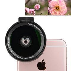 ZOMEI Universal 0.6X Wide Angle Lens with Clip for iPhone Samsung HTC Sony Huawei Xiaomi Meizu