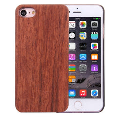 For iPhone 7 Artistic Rosewood + PC Bordure Protective Back Case Shell