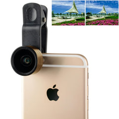 ZOMEI Universal 0.36X Wide Angle Lens with Clip for iPhone Samsung HTC Sony Huawei Xiaomi Meizu(Gold)