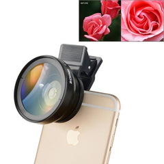 ZOMEI Universal 0.45X Wide Angle Lens with Clip for iPhone Samsung HTC Sony Huawei Xiaomi Meizu(Black)