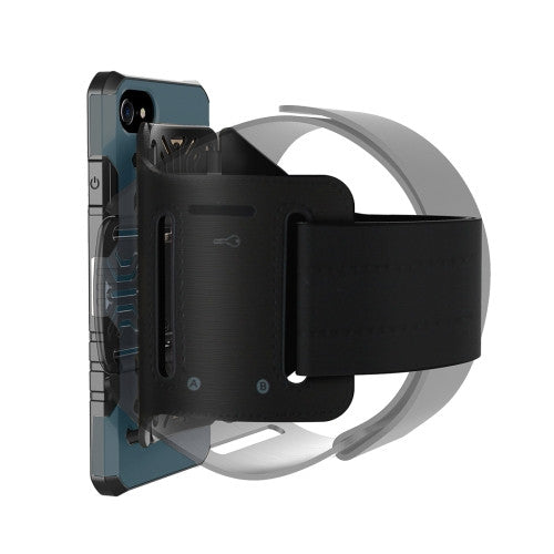 Online Buy For iPhone 7 Multi-function Outdoor Sport Armband with Detachable PC + TPU Combination Case(Dark Blue) | South Africa | Zasttra.com