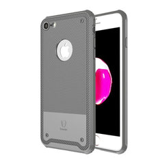 Baseus For iPhone 7 2.2mm Soft TPU Protective Back Cover Shield Case(Grey)