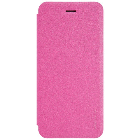 NILLKIN SPARKLE Series For iPhone 7 Frosted Texture Horizontal Flip Leather Case with Sleep / Wake-up Function(Magenta)