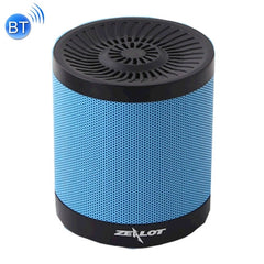 ZEALOT S5 Bluetooth 4.0 Wireless Wired Stereo Speaker Subwoofer Audio Receiver with 2000mAh 18650 Battery Support U Disk Player & 32GB TF / SD Card & FM Radio & Hands-free Calls Function &   Size: 72 x 72 x 80 mm(Blue)
