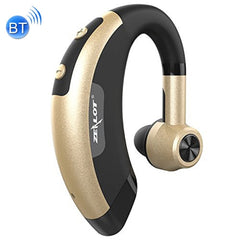 ZEALOT E1 Stereo Wireless Bluetooth 4.0 Single-side Earphone Sports Bluetooth In-ear Headphone Subwoofer Headset Ear Cup with HD Microphone for Mobile Phones & Tablets & Laptops(Gold)