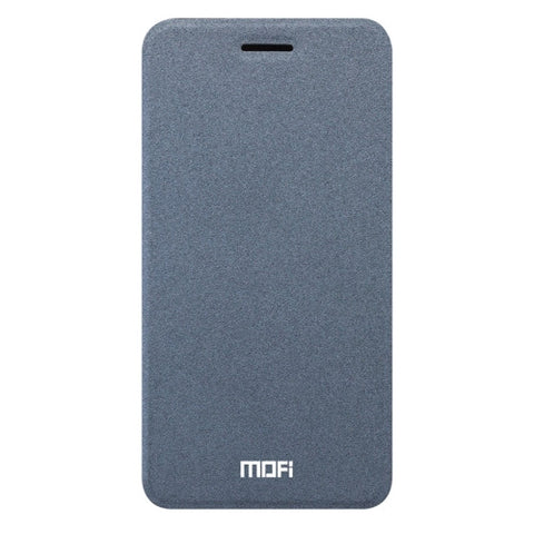 MOFI for iPhone 7 Crazy Horse Texture Horizontal Flip Leather Case with Holder(Grey)