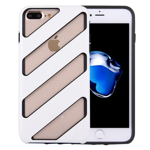 REMAX for iPhone 7 Plus Feeling Series Rubber Protective Case(White)