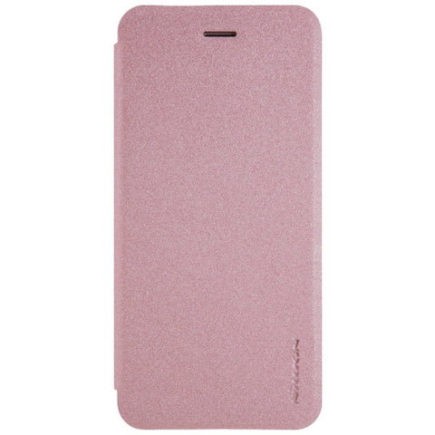 NILLKIN SPARKLE Series For iPhone 7 Plus Frosted Texture Horizontal Flip Leather Case(Rose Gold)
