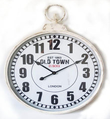 London Old Town Pendant Metal Clock